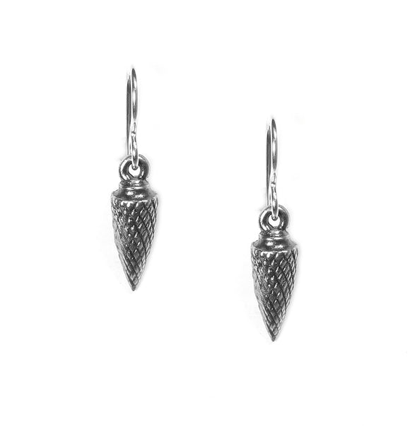 Rook & Crow Pine Cone Earrings E125AS