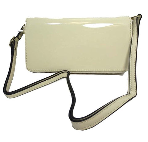 Simply Noelle Patent Vegan Leather Crossbody Wallet