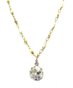 Clara Beau Crystal Fancy Necklace N54E482Cryst