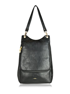 ESPE Trend Vegan Leather Two Tone Fashion Backpack