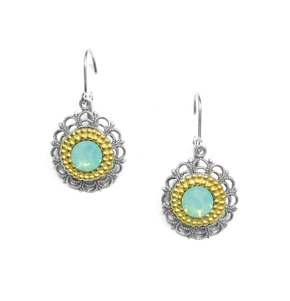 Clara Beau Pacific Green Earrings