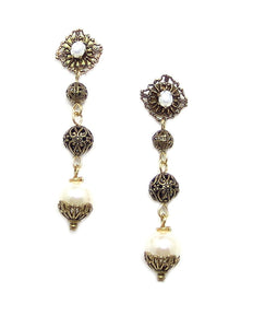 JM Pearl Earrings WAS $49.99