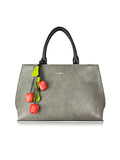 ESPE Emmy Vegan Leather Women's Handbag with Flower Charm