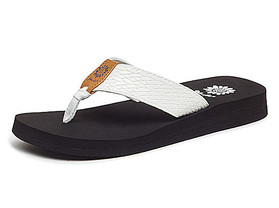 Yellow Box | FLAX Embossed Texture EVA Flip Flops