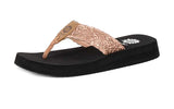 Yellow Box | Women's FREDIE Lacy Cutout Flip Flops