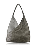 ESPE Hobo Vegan Leather Women's Handbag with Two-Tone Design