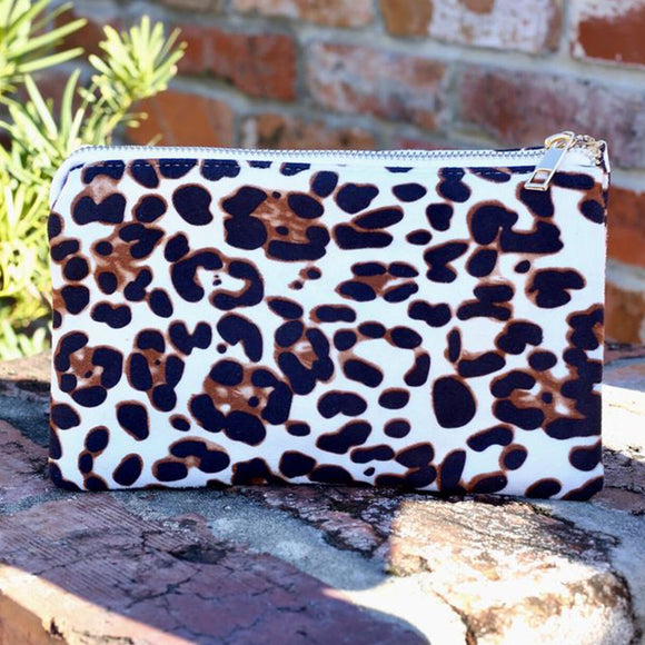 Caroline Hill Liz Crossbody Bag | Leopard Print | More Colors