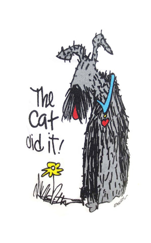 """The Cat Did It!"" Nightshirt by Emerson Street Clothing"