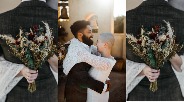 Brooke and Rocco's Texan/Boho Elopement