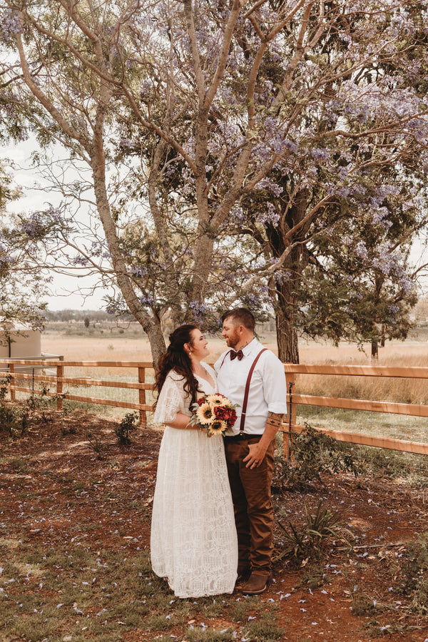 Mikayla & Matt's Boho Chic Garden Wedding