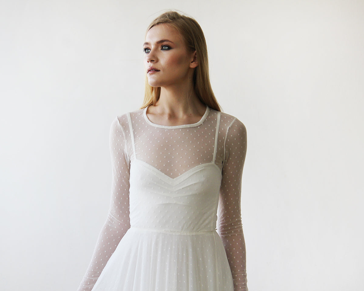The Hottest Trends In Bridal Wear: Dots And Pearls