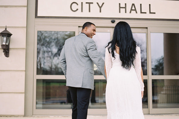 City Hall Wedding Photo shoot Inspiration