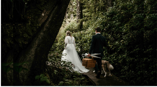 Addison and Kevin's Magical Tofino, Canada Elopement