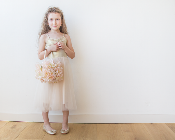 4 wonderful DIY projects for flower girls