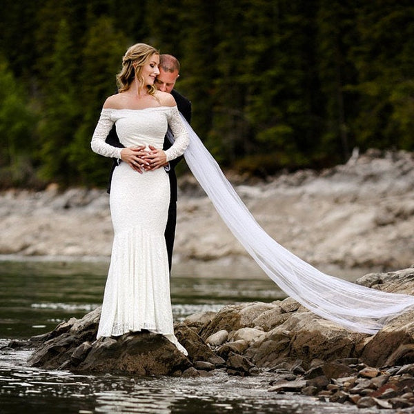 How To Dazzle In A Mermaid Wedding Dress