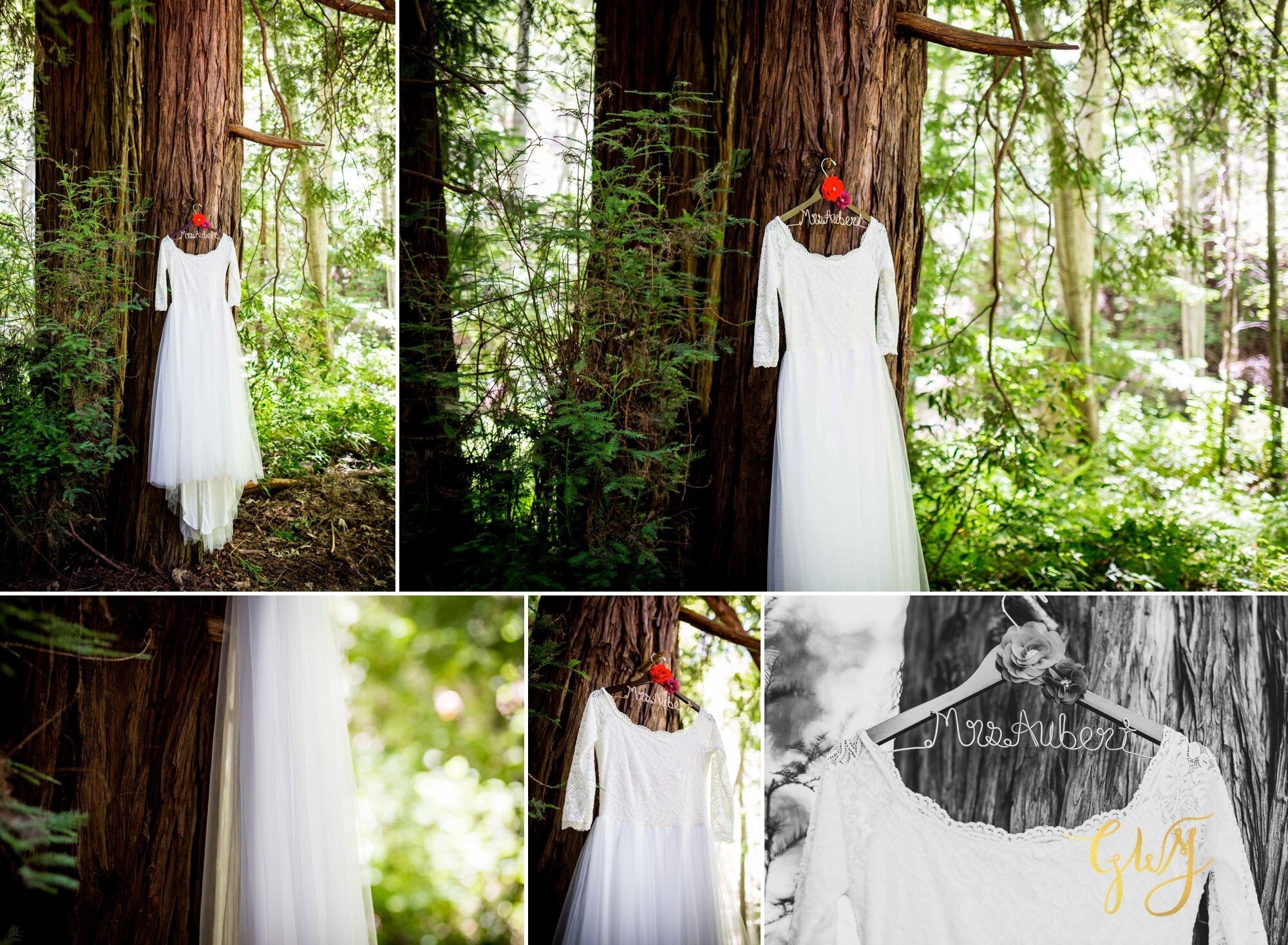 Casey + Jordan's Intimate Big Sur Elopement In The Redwoods