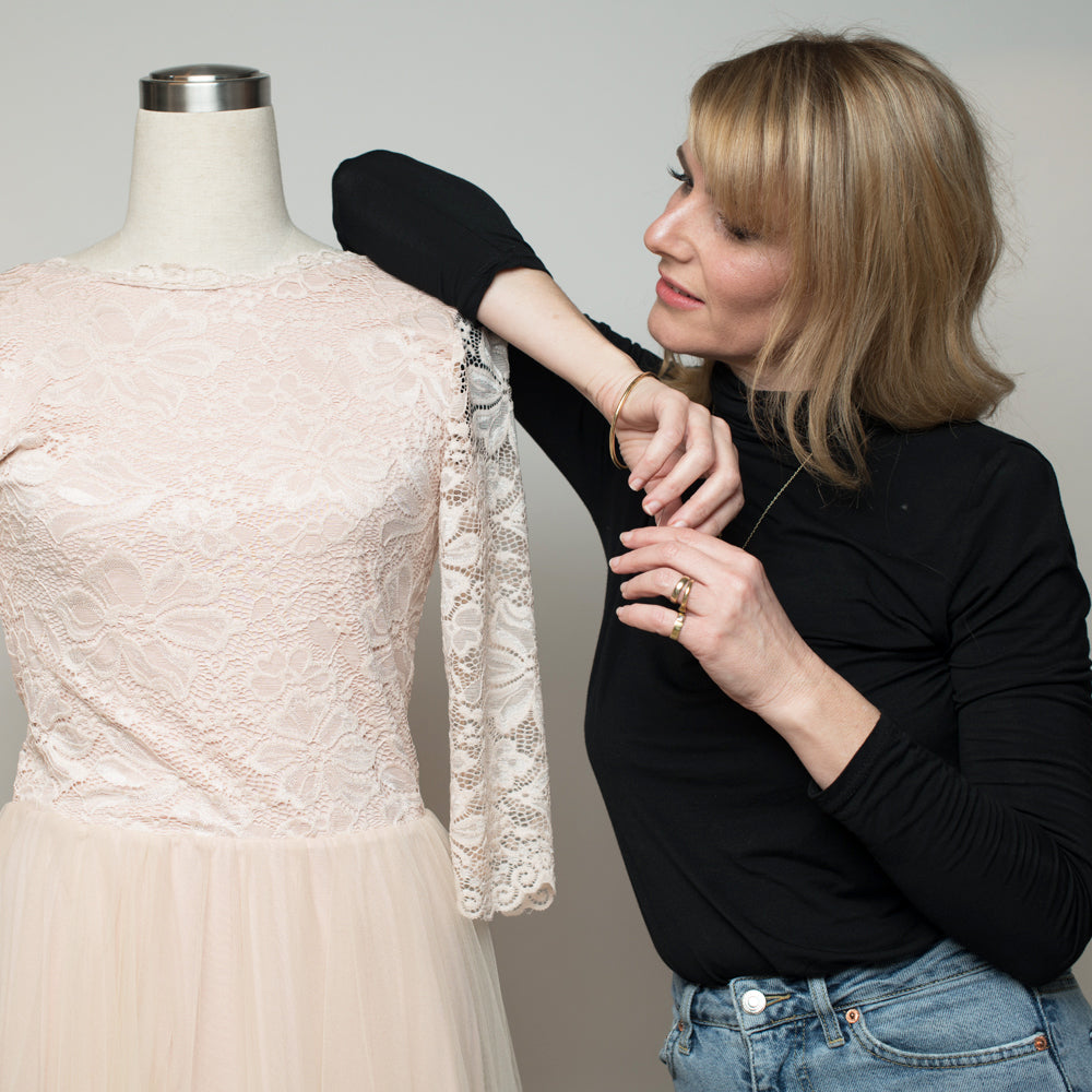 Design you own dream wedding dress on a budget! Here's how it works: