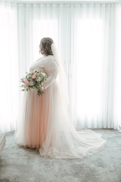 BOHO PLUS SIZE BRIDE