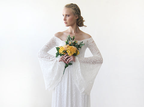 e4715c328f The Full Lace Bell Sleeve from Blushfashion is absolutely exquisite for any  wedding and will help you make a statement - no matter how casual or formal  you ...
