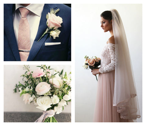 3a09b5237627 Beautiful Blush Wedding Dresses – Be Different on Your Big Day ...