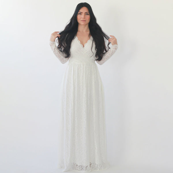 Bestseller Curve & Plus size  wedding dress with pockets #1269