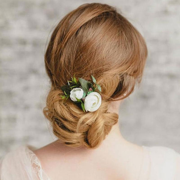 Comb Wedding Party Ornaments Women Girl Hair Clip Barrette Bridal Flower Hairpin