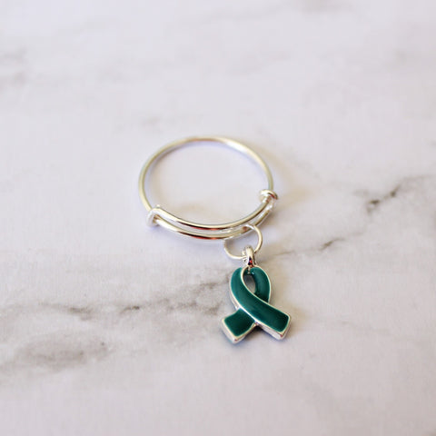 Sterling Silver Collection - Riley Ring - Food Allergy Awareness