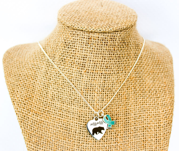 NEW! The Mary - Mama Bear Necklace - Food Allergies