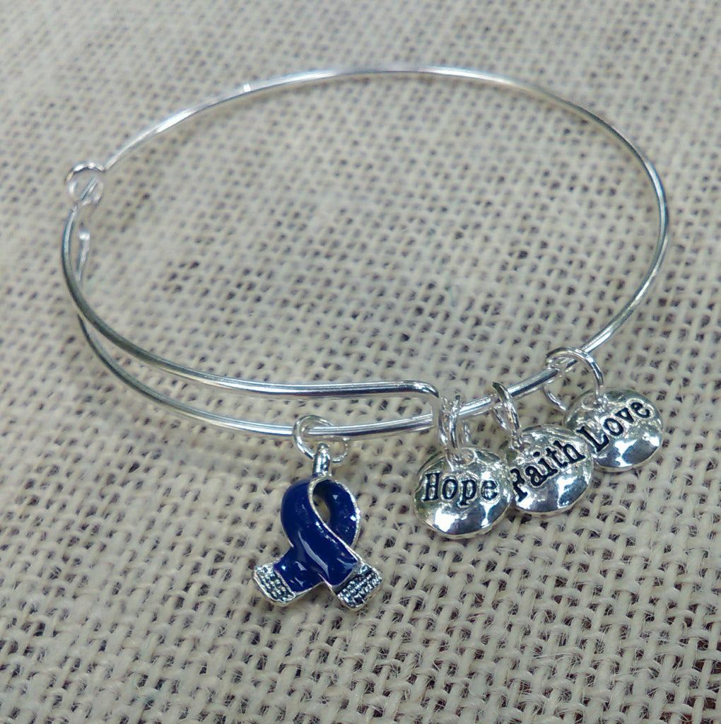 The Ella - Eosinophil Awareness Bangle Bracelet