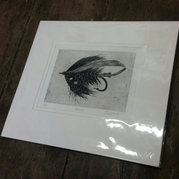 Etching by Emily Crookshank