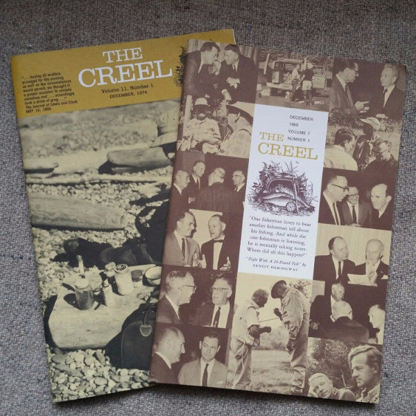 1969 and 1974 issues of The Creel magazine