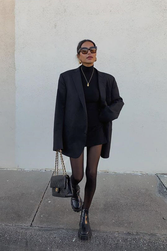 STYLING MARATHON - Day 1 | An all black outfit