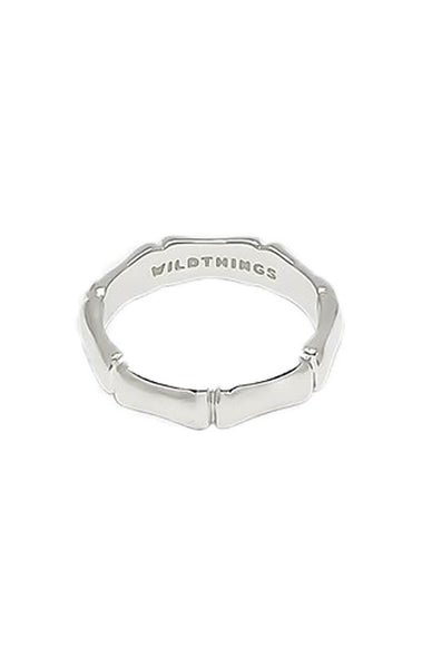 Bamboo ring, gold ring, silver ring, WildThings