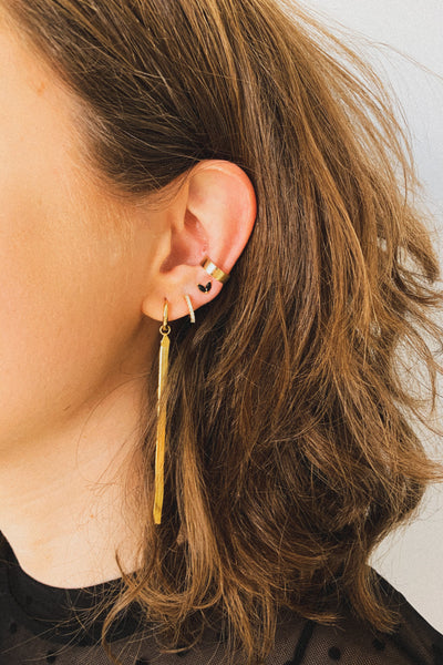 ear cuff, gold, minimalist ear cuff