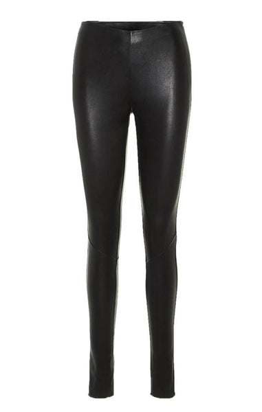 ANNA STRETCH LEATHER LEGGING