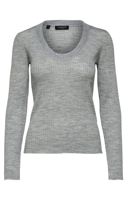 COSTA LS KNIT U-NECK