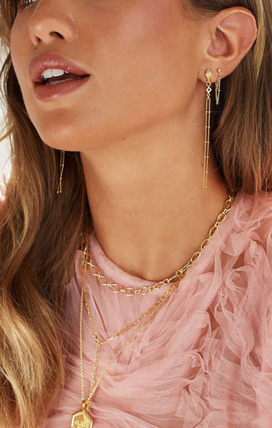 LONG CHAINS EARRINGS