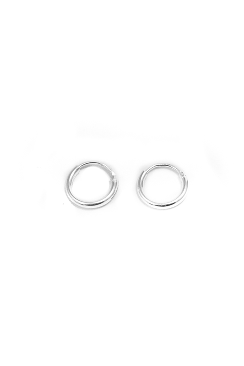 Tiny hoop earrings, gold earrings, minimalistic earrings, Eline Rosina