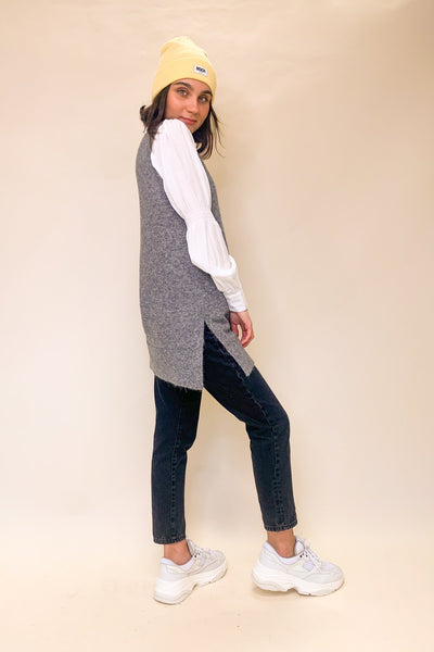 ZENIE LONG SPENCER VEST