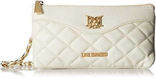 Love Moschino JC4005PP1KLB0110 Shoulder Bag, Ivory, One Size