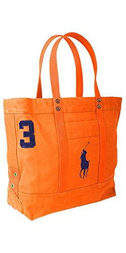 Polo Ralph Lauren Big Pony Tote Bag Orange