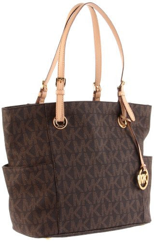 MICHAEL Michael Kors Signature Tote,Brown,one size