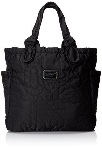 Marc by Marc Jacobs Core Pretty Medium Tate Shoulder Bag,Black,One Size