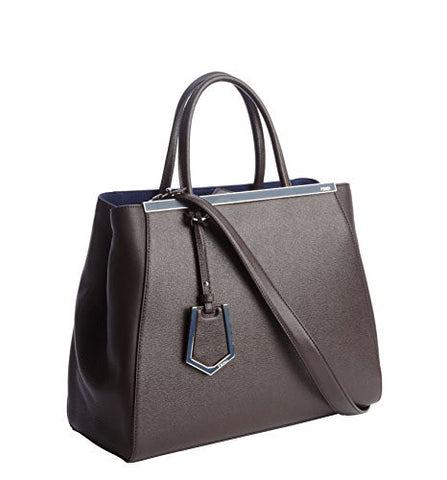 Fendi 2Jours Medium Calf Hair Shopper (One Size, Coffee)