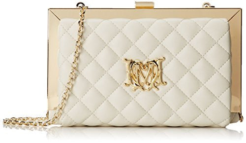 Love Moschino JC4113PP1KLB0110 Shoulder Bag, Ivory, One Size