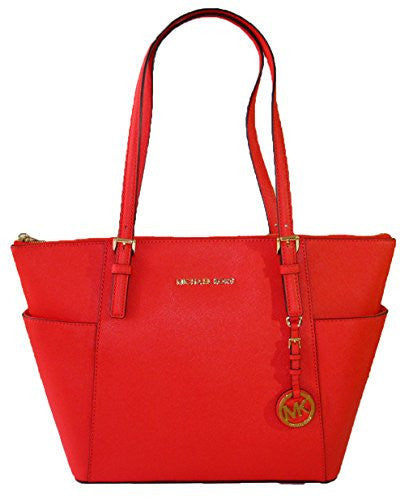 Michael Kors East West Top Zip tote in Mandarin