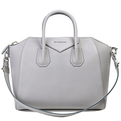 Givenchy Women's Antigona Medium Leather Bag One Size Gray