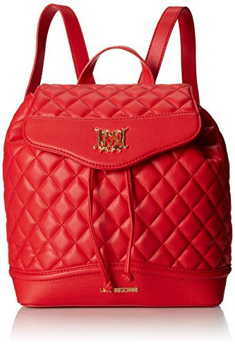 Love Moschino JC4021PP1KLB0500 Backpack, Red, One Size