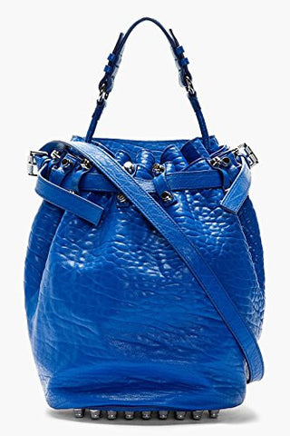 Alexander Wang Diego Bucket Bag (Royal/Rhodium)