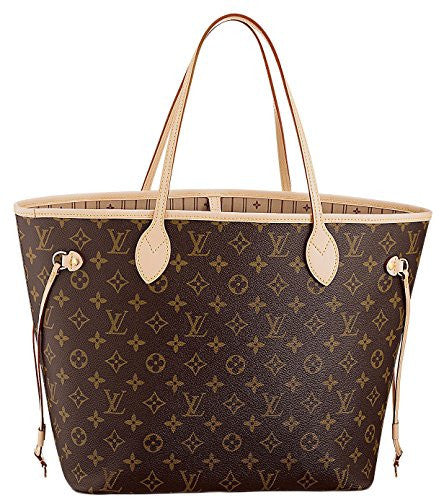 64c7d804c98c Louis Vuitton Neverfull MM Monogram Canvas Handbag Shoulder Bag Tote Purse